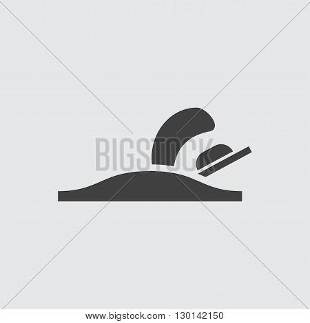 Plane icon illustration isolated vector sign symbol