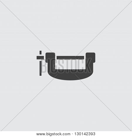 Clamp icon illustration isolated vector sign symbol
