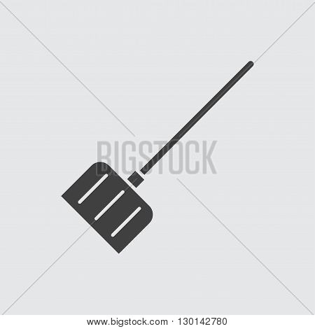 Snow shovel icon illustration isolated vector sign symbol