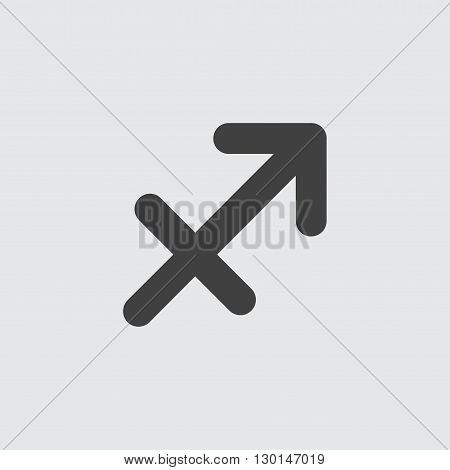 Sagittarius icon illustration isolated vector sign symbol
