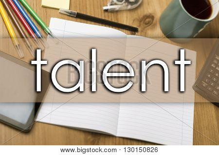 Talent - Business Concept With Text
