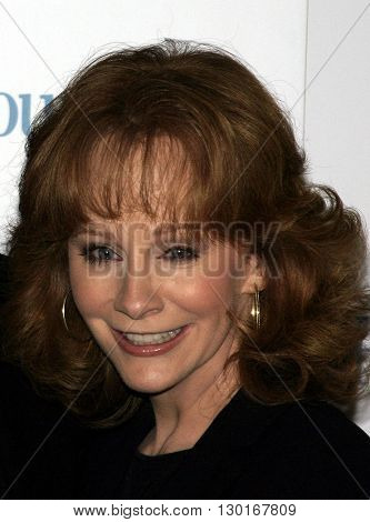 Reba McEntire at the 2005 'Funny Ladies We Love' Awards Hosted by Ladies' Home Journal held at the Pearl in West Hollywood, USA on February 2, 2005.