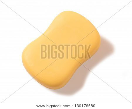 The toilet soap isolated on a white background
