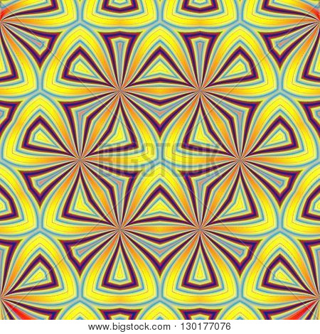 Beautiful pattern can be used as a fabric, tile, carpet, wall paper pattern design.