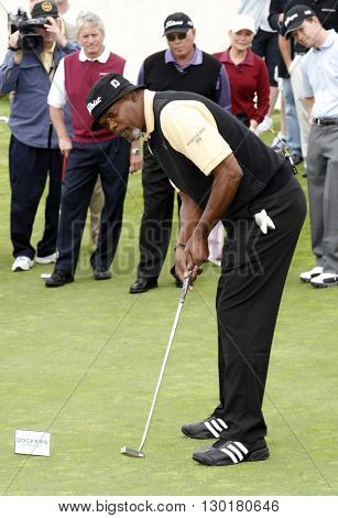 Samuel L. Jackson at the Ninth Annual Michael Douglas & Friends Celebrity Golf Tournament held at the Trump National Golf Club in Rancho Palos Verdes, USA on April 29, 2007.