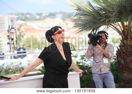 Rossy De Palma attends the 'Julietta' Photocall during the 69th annual Cannes Film Festival at the Palais des Festivals on May 17, 2016 in Cannes, France.