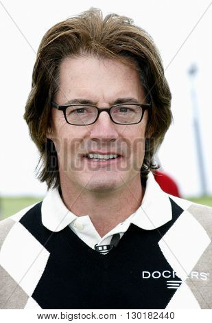 Kyle MacLachlan at the 9th Annual Michael Douglas & Friends Celebrity Golf Tournament held at the Trump National Golf Club in Rancho Palos Verdes, USA on April 29, 2007.