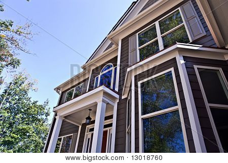Architectural Details On House