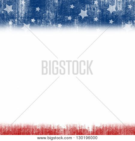 An abstract illustration on United States Patriotic background