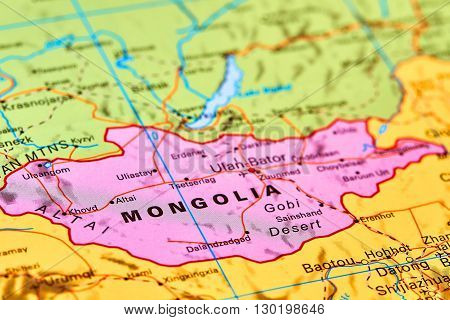 Mongolia On The Map