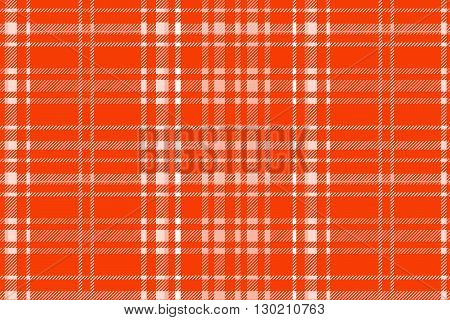 Red Plaid Pattern Vector Backgroun