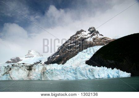Spegazzini Glacier Seen Form Lago Argentino