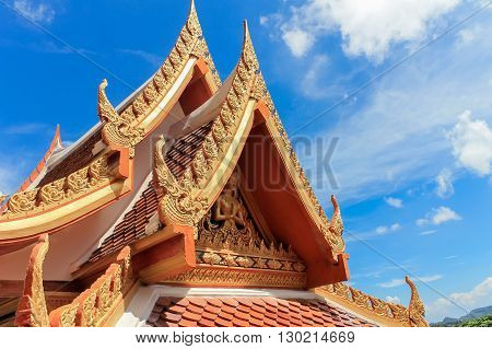 Wat Chalong is the most important temple of Phuket