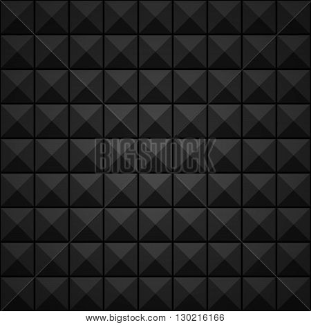 Abstract Black Squares Background. Clip-art