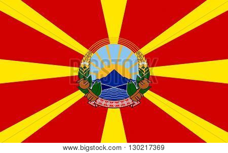Flag of Macedonia officially the Republic of Macedonia is a country in the Balkan peninsula in Southeast Europe