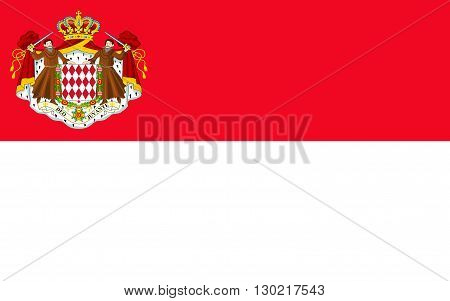 Flag of Monaco officially the Principality of Monaco is a sovereign city-state and microstate located on the French Riviera in Western Europe