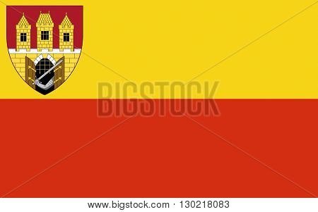 Flag of Prague is the capital and largest city of the Czech Republic