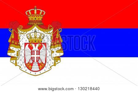 Flag of Serbia officially the Republic of Serbia is a sovereign state situated at the crossroads between Central and Southeast Europe