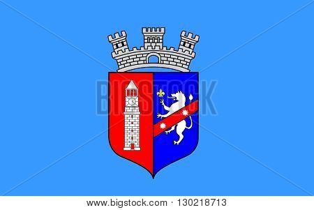 Flag of Tirana is the capital and largest city of Albania