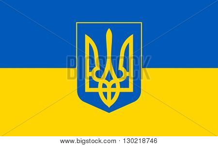 Flag of Ukraine is a sovereign country in Eastern Europe
