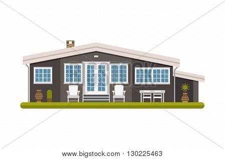 Scandinavian Cottage House