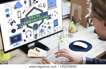 Business Strategy Office Work Concept