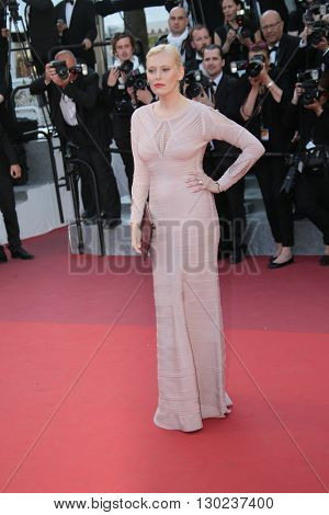 Anna Sherbinina attends a screening of 'Julieta' at the annual 69th Cannes Film Festival at Palais des Festivals on May 17, 2016 in Cannes, France.