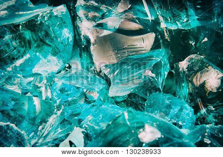 Photo of the Broken Glass Abstract Background