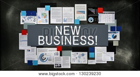 New Business Planning Fresh Ides Objective Concept