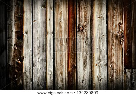 Photo of the Vintage Natural Wooden Background