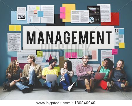Management Mentor Organization Strategy Roles Concept