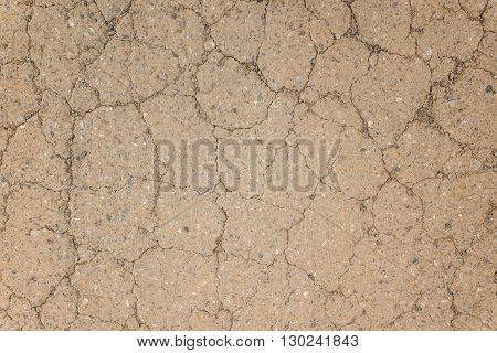 Texture Of Red Dry Soil For Brackground
