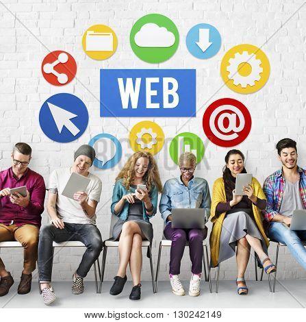 Web Website Browsing Internet Online Concept