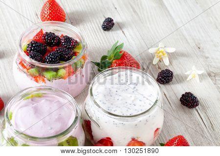 Cold Yogurt For Summer Days