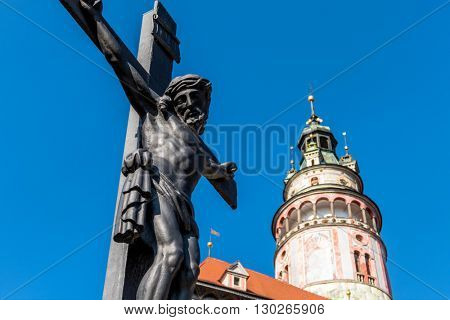 czech republic, city of cesky krumlov, bohemia, good friday, ea