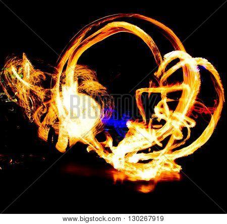 Carnival Light Fire Show