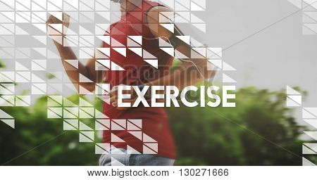 Exercise Cardio Physical Activity Healthy Lifestyle Concept