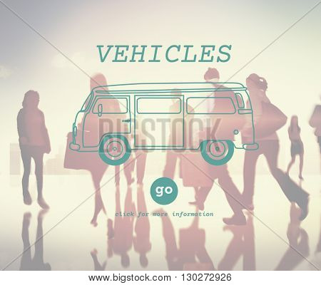 Vehicles Auto Car Drive Industry Intelligent Road Concept