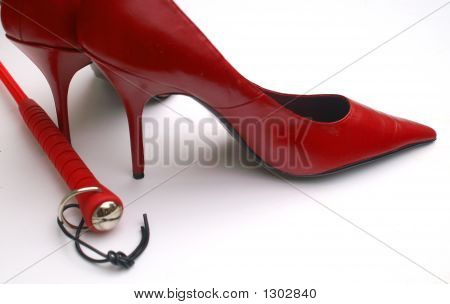 Kinky Red Shoes