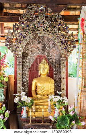 Statue Of Buddha In Thai Buddhism Temple, They Are Public Domain Or Treasure Of Buddhism, No Need Of