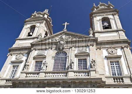 The neoclassical Basilica of Bom Jesus (Good Jesus) in Braga Portugal