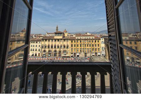 Palazzo Pitti Balcony View