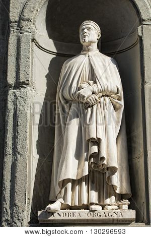 Florence Uffizi Statue Andrea Orgagna