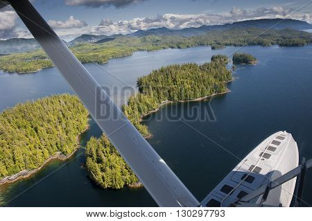 Alaska Prince Of Wales Island Aerial View From Floatplane