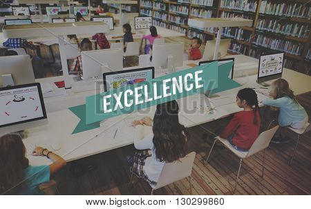 Excellence Knowledge Good Professional Concept