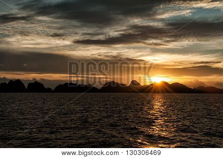 Raja Ampat Papua Indonesia Huge Panorama Landscape