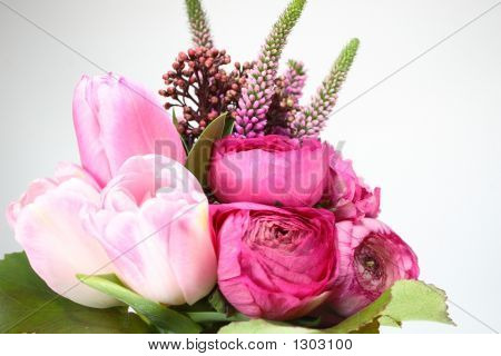 Attractive Spring Flowers Background