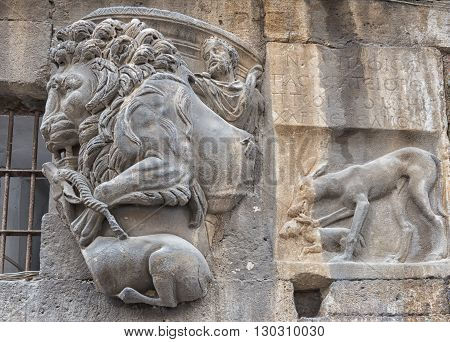 Rome Bas Relief