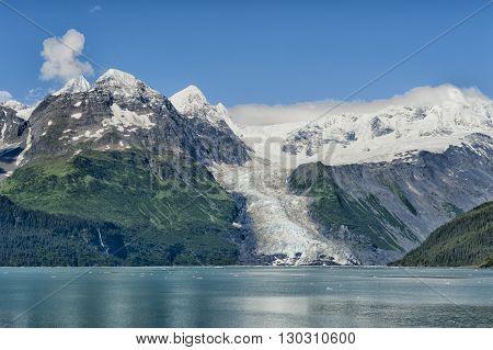 Glacier View In Alaska