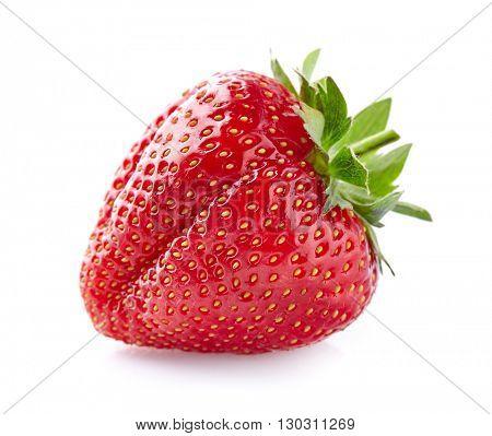 Strawberry in closeup